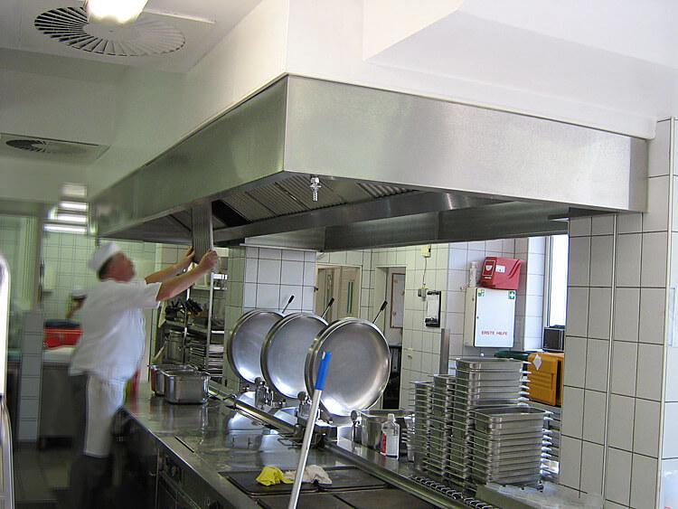 Ablufthauben Küche küchen und lufthygiene nach den haccp und vdi 2052 standards